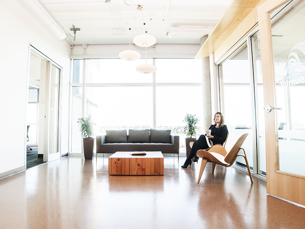 Stantec Offices - Tamara Bush, RID - Photography by Casey Bennett
